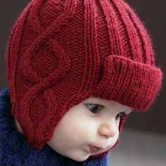 New crochet clothes winter beanie pattern ideas Crochet Baby Clothes Boy, Baby Boy Knitting, Crochet Kids Hats, Knitting For Kids, Knitted Hats, Baby Hat Patterns, Baby Knitting Patterns, Clothes Patterns, Knitting Ideas