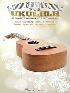 (Ukulele). 30 songs of the season are presented in 3-chord arrangements for ukulele in this collection of carols. Songs include: Angels We Have Heard on High * Deck the Hall * The First Noel * God Res