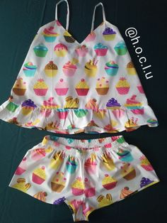 Cute Lazy Outfits, Pretty Outfits, Short Outfits, Cute Pajamas, Pajamas Women, Teen Fashion Outfits, Girl Outfits, Girl Fashion, Ropa Interior Babydoll