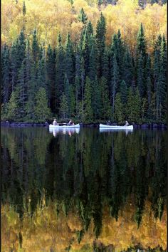 Cherokee Lake, Boundary Waters Canoe Area in Minnesota - another great reflective photo Oh The Places You'll Go, Places To Visit, Beautiful World, Beautiful Places, Beautiful Castles, All Nature, The Great Outdoors, Wonders Of The World, Serenity