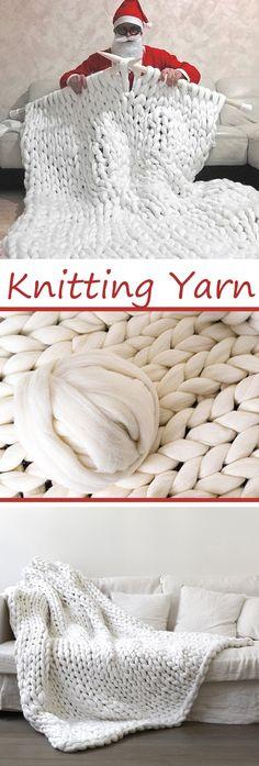 500g/1000g per Ball New Super Chunky Arm Knitting Yarn Blanket Bulky Yarn Merino Imitation Wool Yarn#newchic#DIY#knit