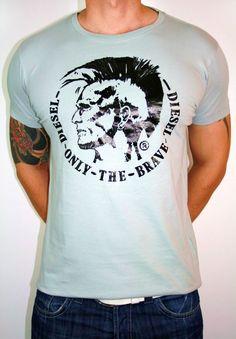Shirt mit Diesel Kopf