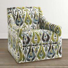 Corinna Swivel Glider Accent Chair by Bassett Furniture