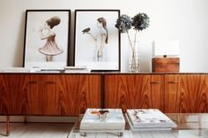Be a decorating rebel --Lean art instead of hanging it! |BrightNest blog.