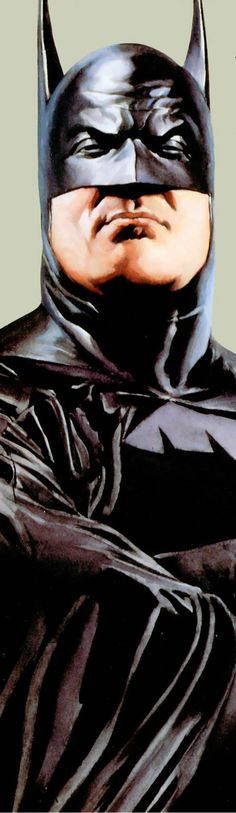 "He's like, ""I'm Batman, and I ain't nuthin ta fuck wit"" - by Alex Ross - #2"