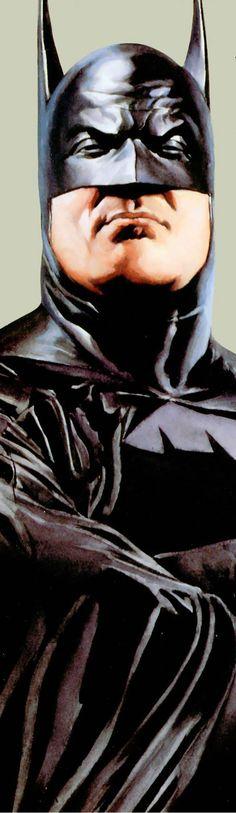 "He's like, ""I'm Batman, and I ain't nuthin ta fuck wit"" - by Alex Ross - #2"