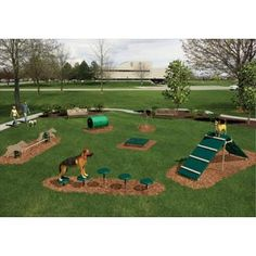 Create your own interactive dog park!
