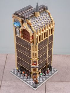The Harry Potter Museum | Loft floor based on set 75954 | Flickr
