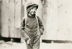 1910 Street Child by Lewis Hine