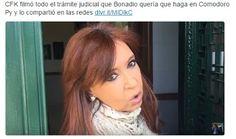Piedra OnLine: CFK filmó todo el trámite judicial que Bonadio que...