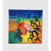 wall-clock-square-multi-color-floral-deco-wooden-wall-clock-rangrage