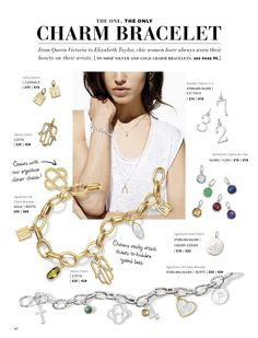 Fall 2014 Charm bracelet and charms. Crazy cute, you can interchange your necklace charms to your new bracelet :) http://www.stelladot.com/shop/en_us/jewelry/charms-engraving?s=apena