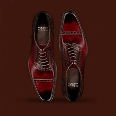 A true artist wears it, walks it, and breathes it. #WhiskyRed #fashion #instago #shoes #mensfashion #style #like