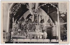RP: Roman Catolic Church Interior , FORT GOOD HOPE , NWT , Canada , 10-20s