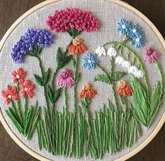 Wonderful Ribbon Embroidery Flowers by Hand Ideas. Enchanting Ribbon Embroidery Flowers by Hand Ideas. Embroidery Flowers Pattern, Hand Embroidery Stitches, Silk Ribbon Embroidery, Crewel Embroidery, Hand Embroidery Designs, Embroidery Kits, Embroidery Supplies, Embroidered Flowers, Hand Embroidery Projects