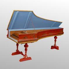 cembalo Bartolomeo Cristofori 1726 (Leipzig Museum) : it's not a piano !