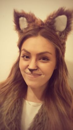 Fox makeup tutorial for halloween fox makeup halloween makeup and an easy diy fox costume based on the lovely make up tutorial in http solutioingenieria Choice Image