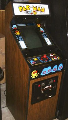 Pac-Man Arcade Game - (1980) - #arcade #retrogaming #oldschool