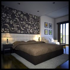 modern bedroom art ideas