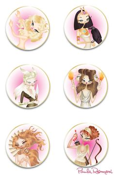 Horoscope goddesses 2 Paula Romani