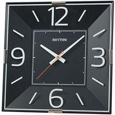 Rhythm 7493/7 Wanduhr Quarz, schwarz, hochwertiges ABS-Gehäuse Jobo http://www.amazon.de/dp/B00IOSAYNS/?m=A37R2BYHN7XPNV