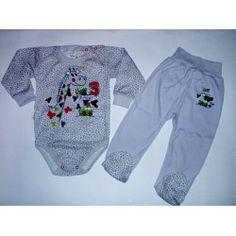 Komplet body + półśpiochy roz 80,86 Żyrafka Mrofi Onesies, Kids, Baby, Clothes, Fashion, Young Children, Outfits, Moda, Boys
