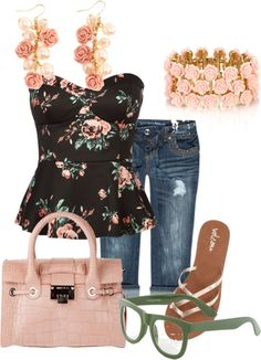 """""""summer dates"""" by amberm1220 on Polyvore"""