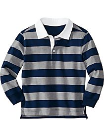 Little Boys' Beefy Rugby from Hanna Andersson. - $42.00