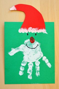 The One with Kid's Christmas Crafts I love my kids and I love crafts - combine the two and you've got the mecca of Paige's happiness! This morning we . The One with Kid's Christmas Crafts Kids Crafts, Childrens Christmas Crafts, Christmas Arts And Crafts, Santa Crafts, Daycare Crafts, Christmas Activities, Baby Crafts, Toddler Crafts, Preschool Crafts