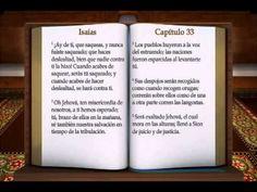"LA BIBLIA "" ISAIAS "" COMPLETO REINA VALERA ANTIGUO TESTAMENTO - YouTube"
