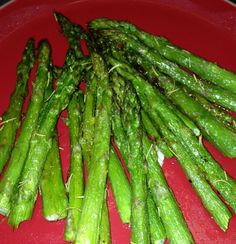 Baked Asparagus...the best way to cook this vegetable.  Diabetic friendly and Paleo!
