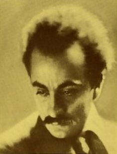 """ Khalil Gibran"" born Jubran Khalil Gibran, January 6,1883, Bsharri, Mount Lebanon, Mutasarrifate, Ottoman Syria (modern day Lebanon) and died, April 10, 1941, New York City, New York at age 48.  A Lebanese poet, painter, writer, philosopher, theologian, and visual artist."
