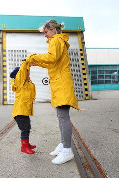 Derbe-Rainjackets for Mom & Paps & Child