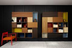 MODERN DINING - shelves cabinet design by Piero Lissoni - Porro Spa