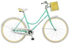 Special Offers - Schwinn Womens Fairbrook 700C Cruiser Bicycle Mint/Yellow 16-Inch - In stock & Free Shipping. You can save more money! Check It (October 04 2016 at 11:34PM) >> http://roadbikesusa.net/schwinn-womens-fairbrook-700c-cruiser-bicycle-mintyellow-16-inch/