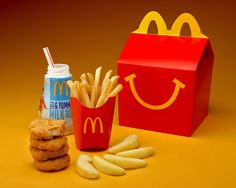 Are McDonald's still sexist regarding their 'Happy Meals' (coursework information)?