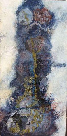 L'ivre de matières et de couleurs :  La géante  Elisabeth Couloigner