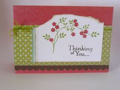 Thinking of you by Ausmex - Cards and Paper Crafts at Splitcoaststampers