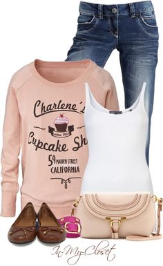 """Cupcake Time"" by in-my-closet on Polyvore"