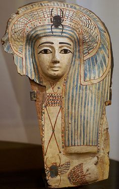 Sargmaske (sarcophagus mask)