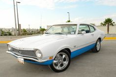 !972 Ford Maverick. Another spinoff of the Falcon chassis.