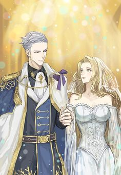 Klaus et Elvira Van Der Wellan Anime Love Couple, Manga Couple, Anime Couples Manga, Cute Anime Couples, Anime Art Girl, Manga Art, Castlevania Wallpaper, Manga Romance, Fantasy Couples
