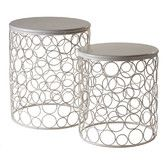 Found it at Wayfair - 2 Piece Nesting Table Set