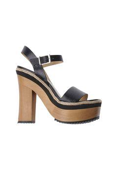 Womens Platform Block Heel Ankle Strap Sling LAST PIECE IN SIZE UK 6 / EU 39 #heels #platform #shoes #womensfashion #fashion