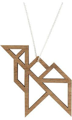 Camel Tangram Necklace Best Price