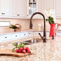 Giallo Ornamental ::: Granite Countertop Color - Will Look FAB With White or Off White Cabinets!!!