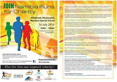 Namibia Runs for Charity 2016  - Saturday 16 July 2016