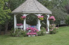 Outstanding thing - go look at our report for even more suggestions! Garden Structures, Outdoor Structures, Small Gazebo, Wooden Gazebo, Park Restaurant, Shabby Chic Garden, Garden Yard Ideas, Backyard Retreat, Stone Houses