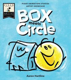 In Box Meets Circle: Pixar Animation Studios Artist Showcase Book, Circle loves to jump, but Box falls flat. They want to play together, but how? 1000 Books Before Kindergarten, New Children's Books, How To Make Animations, Disney Sketches, Simple Stories, Creative Thinking, Toys For Boys, Kids Toys, Story Time