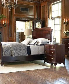 Rustic american country manor house on pinterest ralph lauren english country houses and Ralph lauren home bedroom furniture